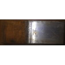 Пластина медно-алюминиевая переходная МА120х10