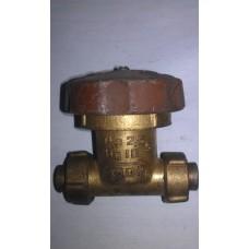 Клапан запорный сильфонный цапковый вакуумный 15Б50р-3М Ду10